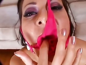 Panties & Sperm - Cum On Panties Fetish Compilation