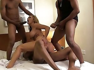 Cheating Whore Wife Gangbanged by BBC's