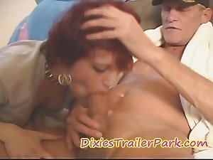 Daddy helps TEEN daughter's friend GET OFF and Swallow CUM