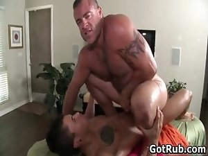 Fine man gets superb gay rub 9 by GotRub