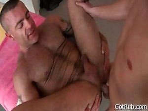 Blond hotty gets intense massage 2