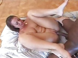 Teen white girl with black guy - Hardcore Interracial