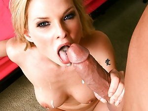 Kinky blonde Terra white gets drilled by a massive cock
