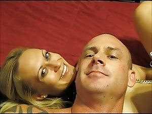 Blonde Squirter Enjoys BBC